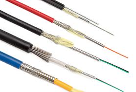 Cavalier du câble à fibre optique