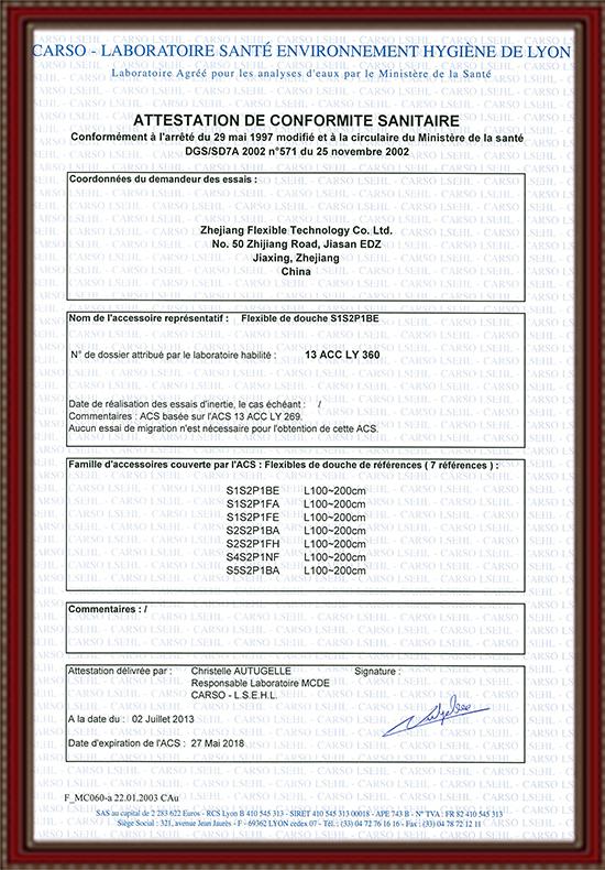 CSA Certificat