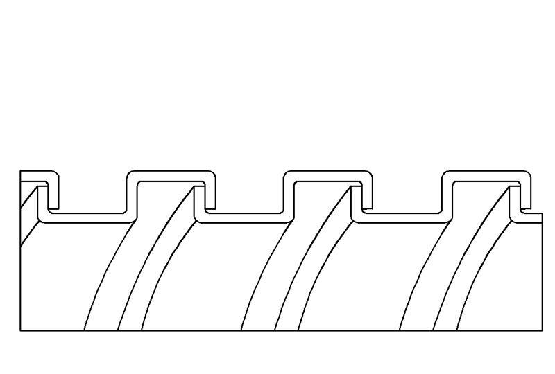 Tuyau flexible métallique en protection électrique à faible risque d'incendie - PEG13X Series