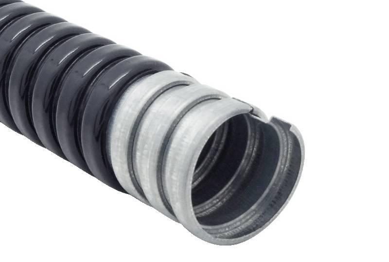 Tuyau flexible métallique de protection électrique Applications imperméables - PEG13PE Series