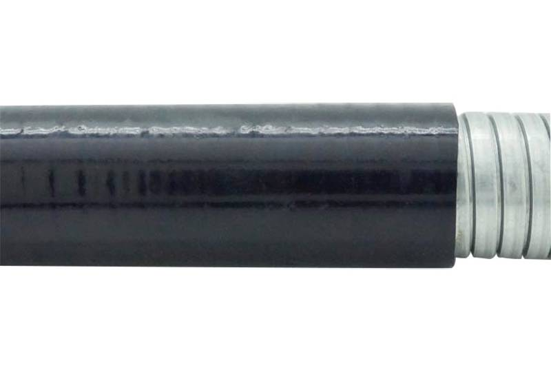 Tuyau flexible métallique de protection électrique Applications imperméables - PEG23PVC Series