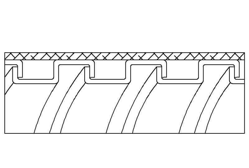 Tuyau flexible métallique de protection électrique pour applications d'éviter les interférences électromagnétiques- PEG13GB Series