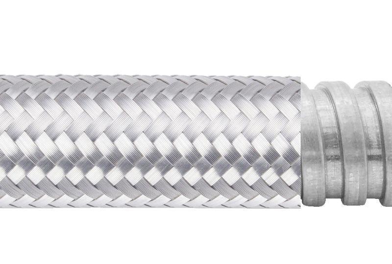 Tuyau flexible métallique de protection électrique pour applications d'éviter les interférences électromagnétiques- PEG13SB Series
