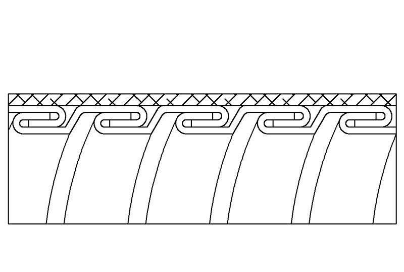 Tuyau flexible métallique de protection électrique pour applications d'éviter les interférences électromagnétiques- PEG23SB Series