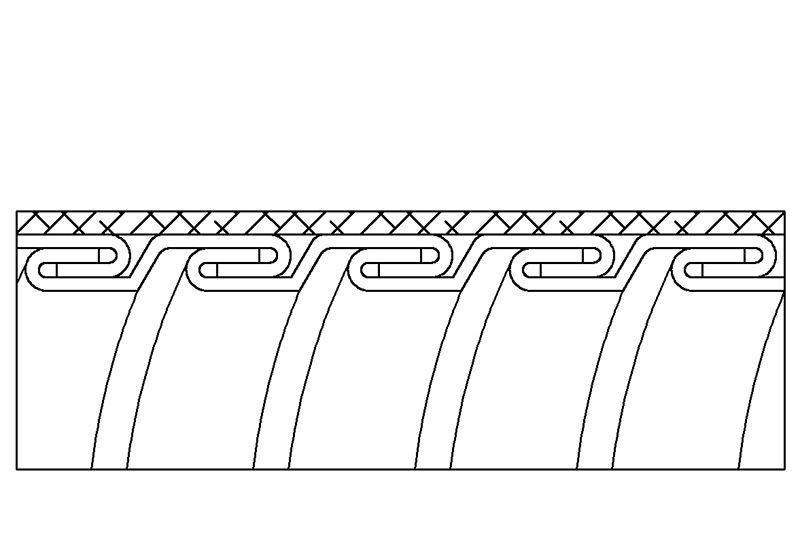 Tuyau flexible métallique de protection électrique pour applications d'éviter les interférences électromagnétiques- PES23SB Series