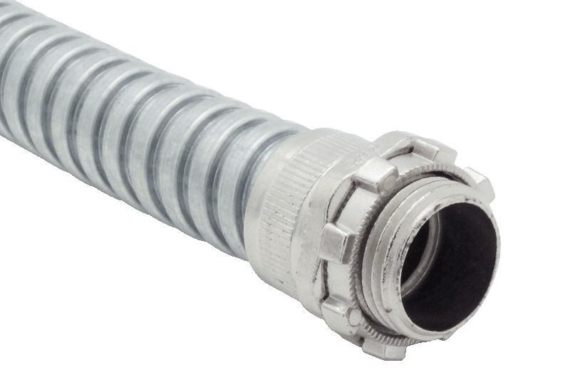 Tuyau flexible métallique de protection électrique-Application faible risque d'incendie - PAG13X Series