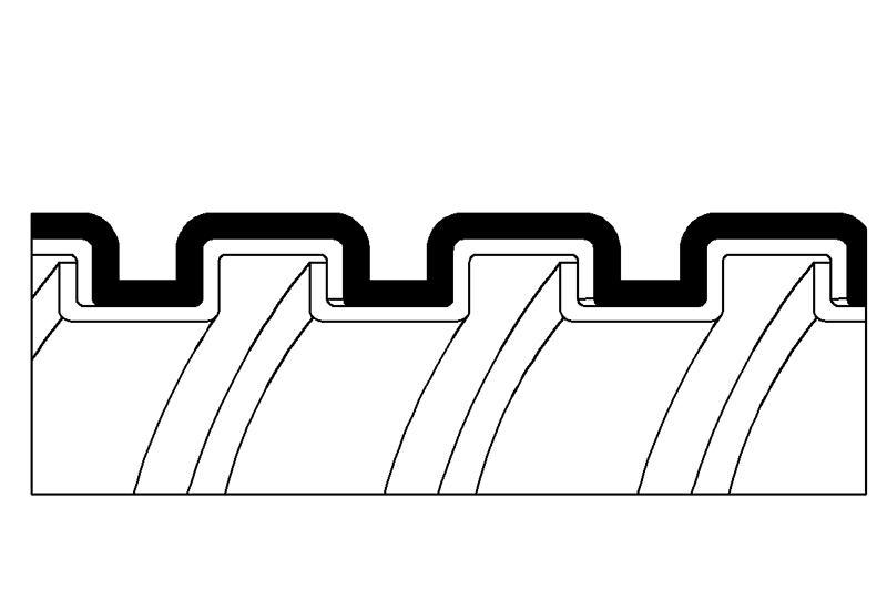Tuyau flexible métallique de protection électrique-Application imperméable- PAG13PU Series