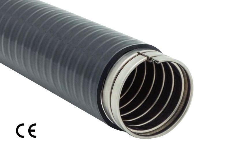 Tuyau flexible métallique de protection électrique-Application imperméable- PAS23PVC Series