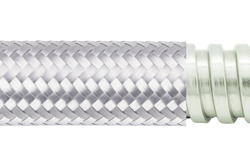 Tuyau flexible métallique de protection électrique pour applications d'éviter les interférences électromagnétiques- PAG13SB Series