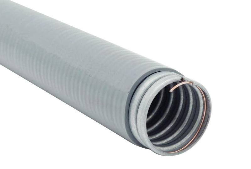 Tuyau flexible métallique imperméable en type étanche liquide - Série PHLTG (UL 360)