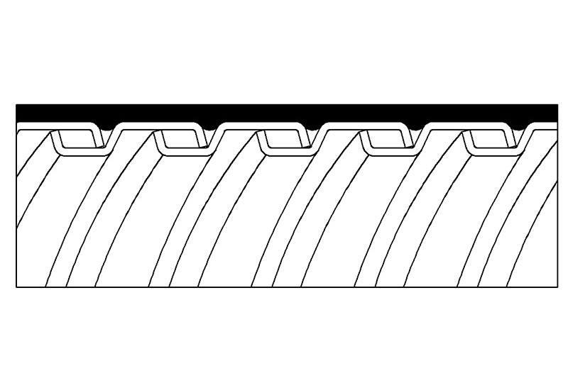 Tuyau flexible métallique imperméable en type étanche liquide - PLTG13PVC Series (Non-UL)