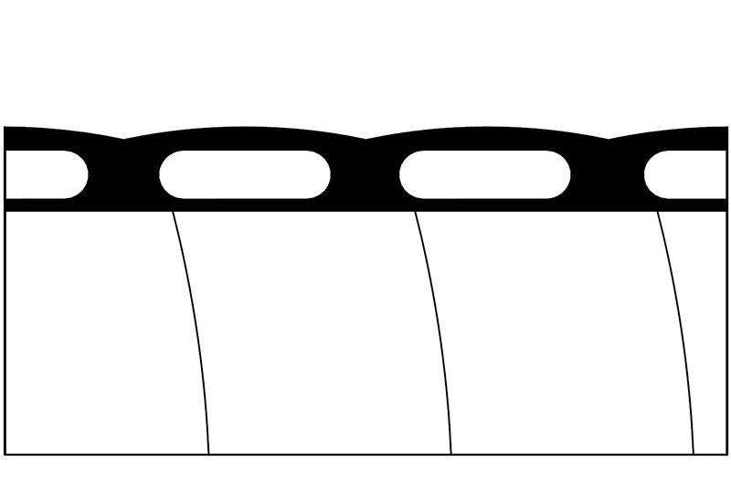 Tuyau flexible non-métallique en type étanche liquide - Série PLFNCB