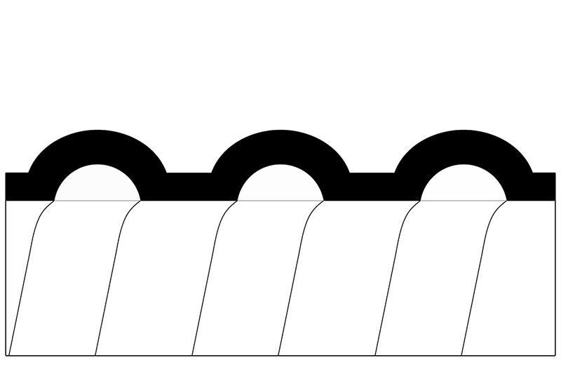 Tuyau flexible non-métallique en type étanche liquide - Série PLFNCB2