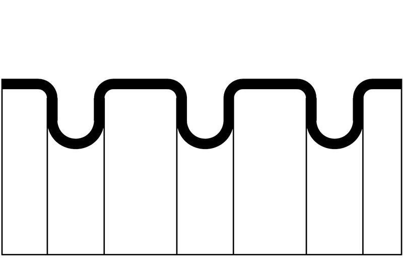 Tuyau ondulé en plastique - Série PACS0 (UL 1696)