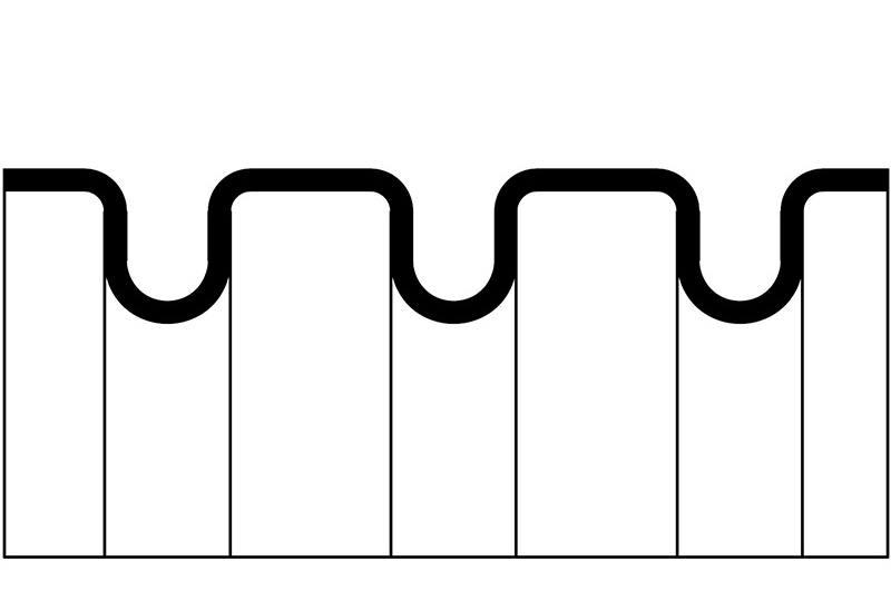 Tuyau ondulé en plastique - Série PACS2 (UL 1696)