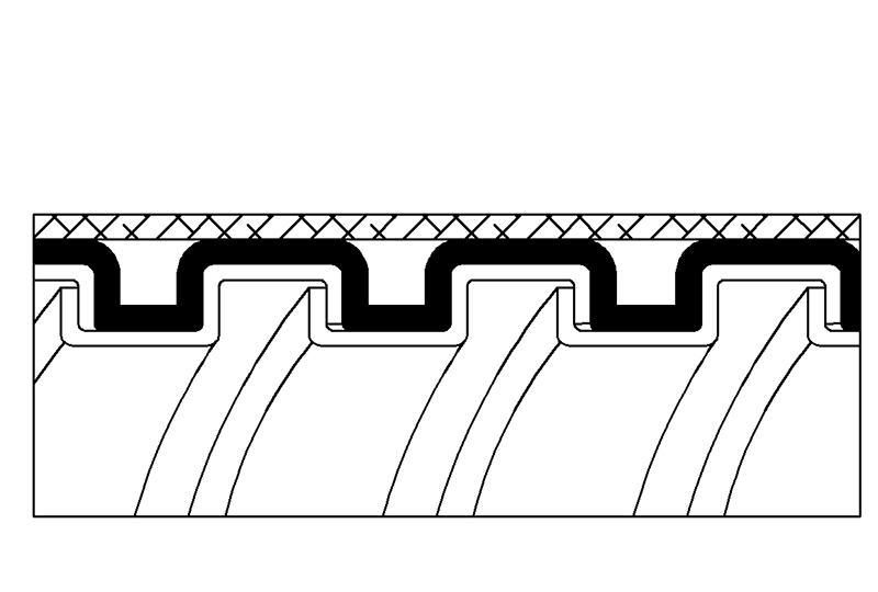 Tuyau flexible métallique de protection électrique-Applications imperméables et anti-électromagnétiques- PAG13PVCGB Series