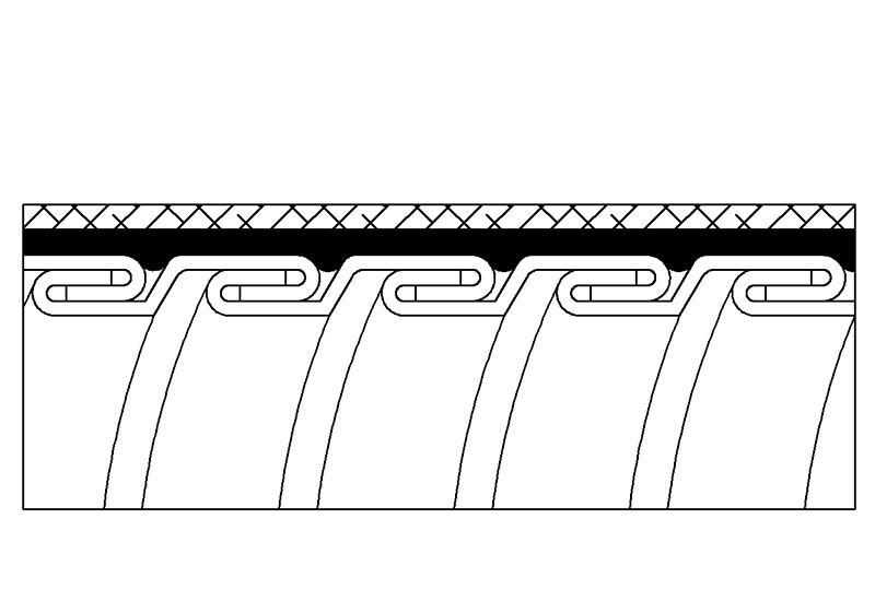 Tuyau flexible métallique de protection électrique-Applications imperméables et anti-électromagnétiques- PAG23PVCGB Series