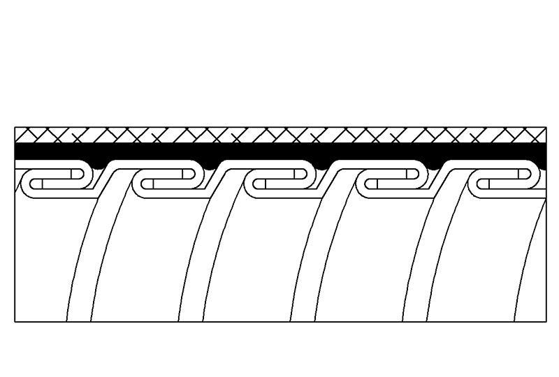 Tuyau flexible métallique de protection électrique-Applications imperméables et anti-électromagnétiques- PAG23PVCSB Series