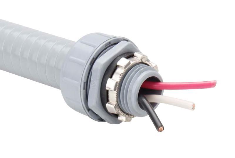 Raccord du tuyau flexible non-métallique en type étanche liquide - Série P50 (UL514B)