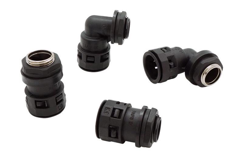 Raccord du tuyau ondulé en plastique - Série FN03 (UL 514B)