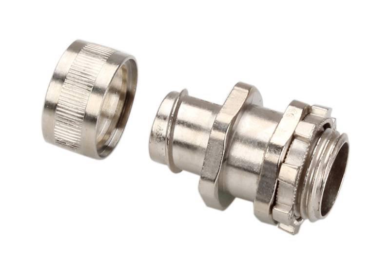 Raccord du tuyau flexible métallique Protection électrique Application à faible risque d'incendie - Série AZ05