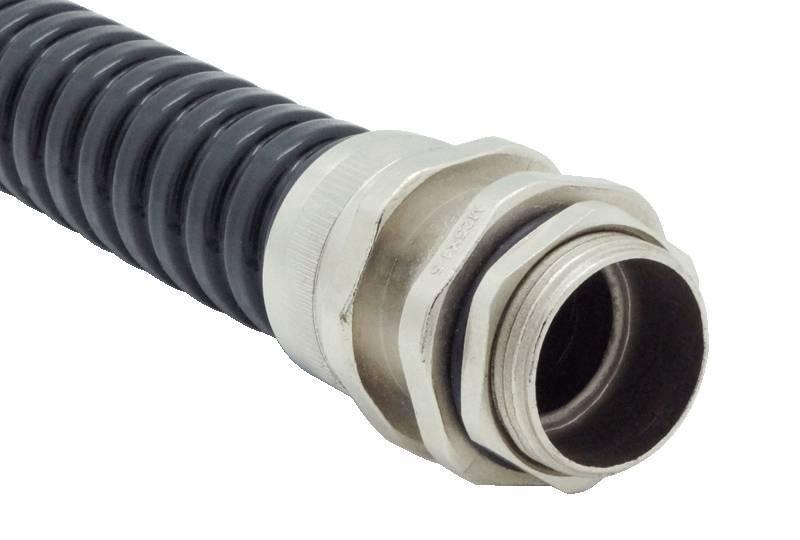 Raccord du tuyau flexible métallique Protection électrique Applications imperméables - Série AZ11