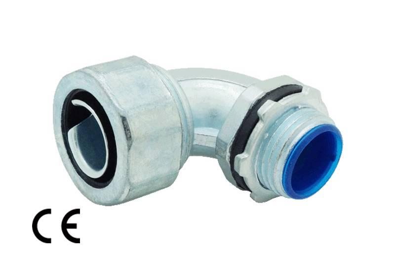 Raccord du tuyau flexible métallique Protection électrique Applications imperméables - Série GS53