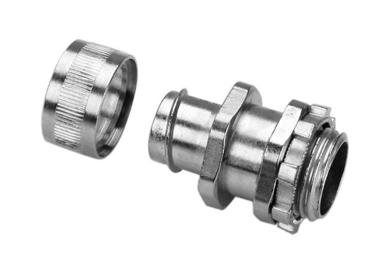 Raccord du tuyau flexible métallique à protection électrique Application de faible risque d'incendie- BAZ05 Series