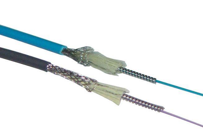 Câble optique blindé uni-mèche
