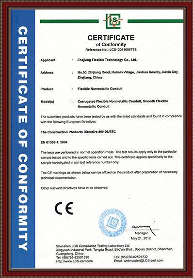 CE Certificat