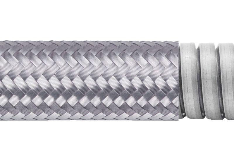 Tuyau flexible métallique de protection électrique pour applications d'éviter les interférences électromagnétiques- PEG23GB Series