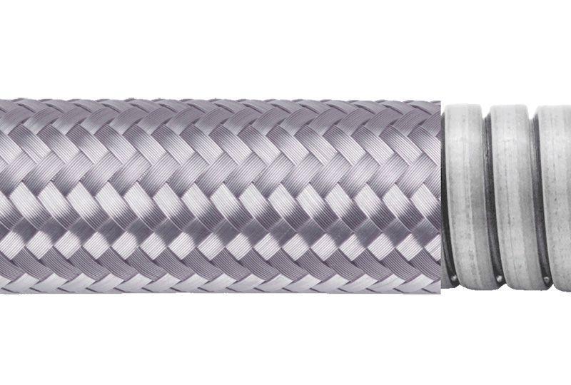 Tuyau flexible métallique de protection électrique pour applications d'éviter les interférences électromagnétiques- PEG23TB Series