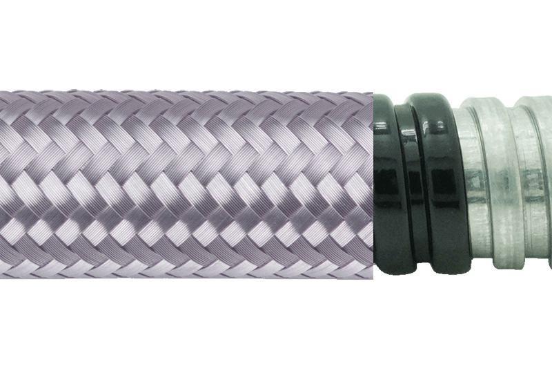 Tuyau flexible métallique de protection électrique-Applications imperméables et anti-électromagnétiques- PEG13PVCTB Series