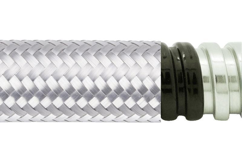 Tuyau flexible métallique de protection électrique-Applications imperméables et anti-électromagnétiques- PES13PVCSB Series