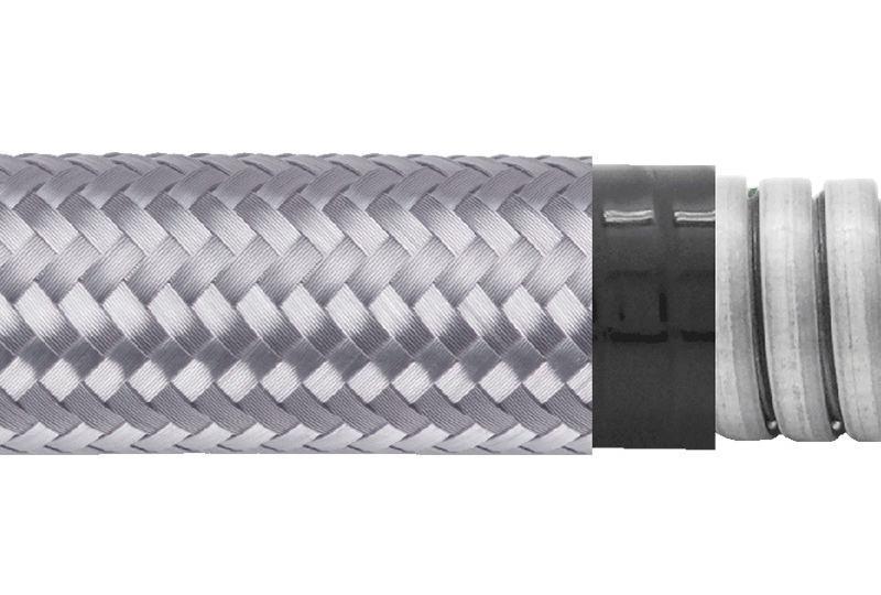 Tuyau flexible métallique de protection électrique-Applications imperméables et anti-électromagnétiques- PEG23PVCGB Series