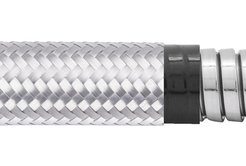 Tuyau flexible métallique de protection électrique-Applications imperméables et anti-électromagnétiques- PES23PVCSB Series