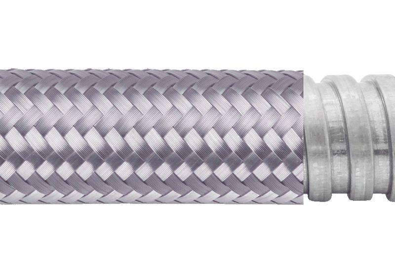 Tuyau flexible métallique de protection électrique pour applications d'éviter les interférences électromagnétiques- PAG13TB Series