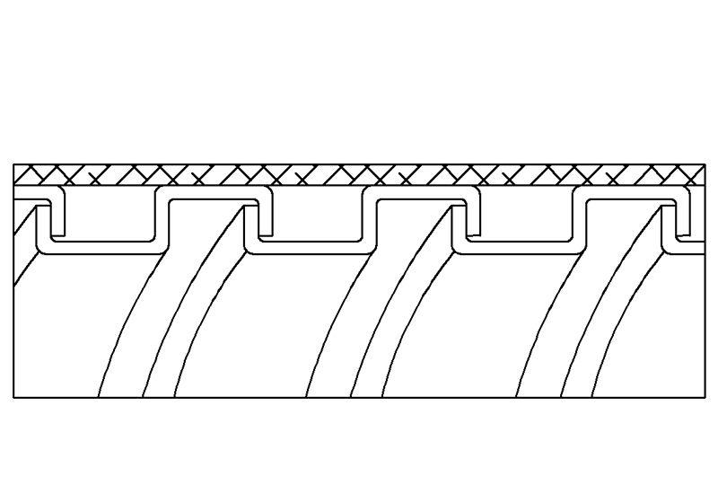 Tuyau flexible métallique de protection électrique pour applications d'éviter les interférences électromagnétiques- PAG23GB Series(AS)