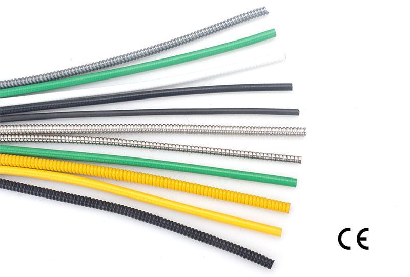 Tuyau flexible métallique à fil électronique - type de bouton unique