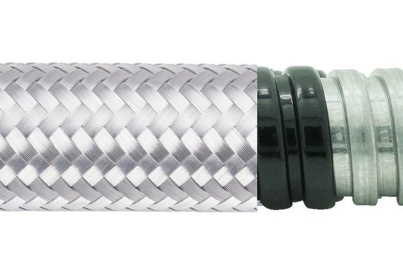 Tuyau flexible métallique de protection électrique-Applications imperméables et anti-électromagnétiques- PAG13PVCSB Series