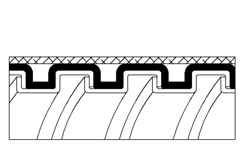 Tuyau flexible métallique de protection électrique-Applications imperméables et anti-électromagnétiques- PAG13PVCTB Series