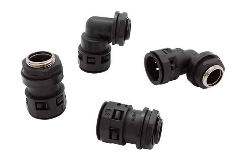 Raccord du tuyau ondulé en plastique - Série FN01 (UL 514B)