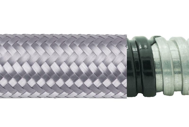 Tuyau flexible métallique imperméable à l'eau+EMI blindage-AS