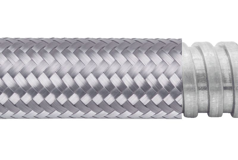 Tuyau flexible métallique EMI blindage-AS
